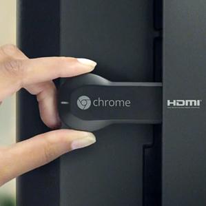 detail of Chromecast