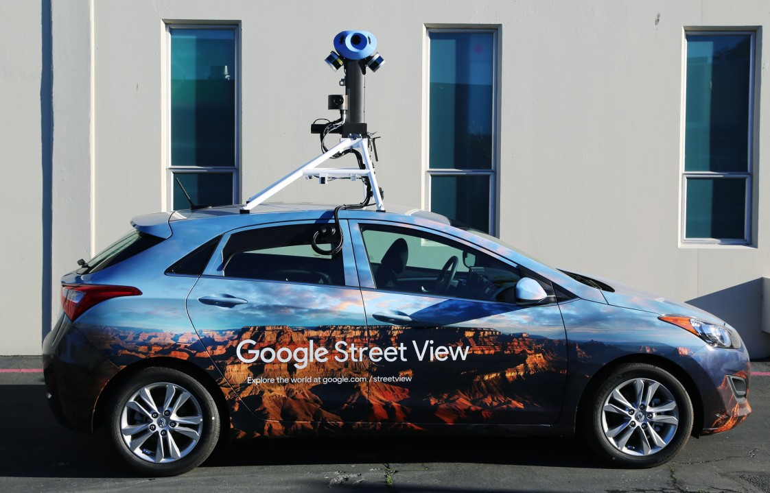Google's new Street View rig