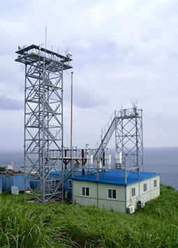 South Korea's Gosan GAW Regional Station, on the southwestern tip of Jeju Island.