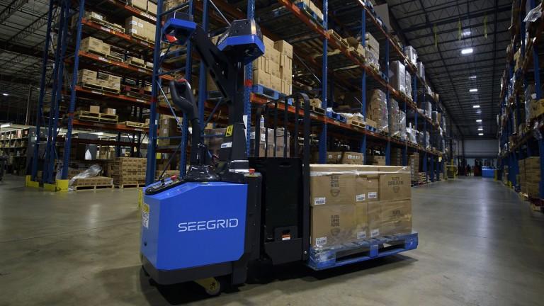 Seegrid's GP8 Series 6 forklift