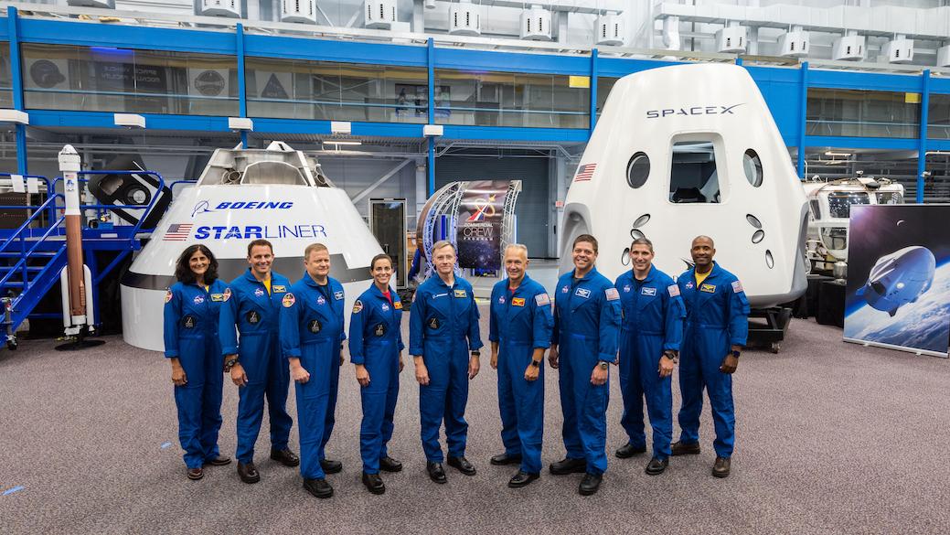 Nasa Commercial crew nine astronauts