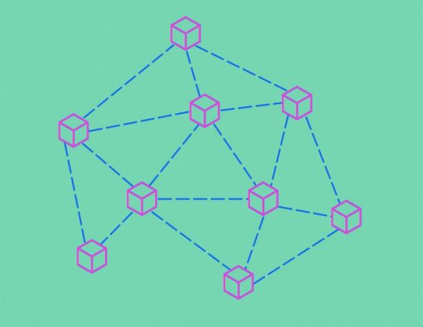 Handshake's illustration of a blockchain