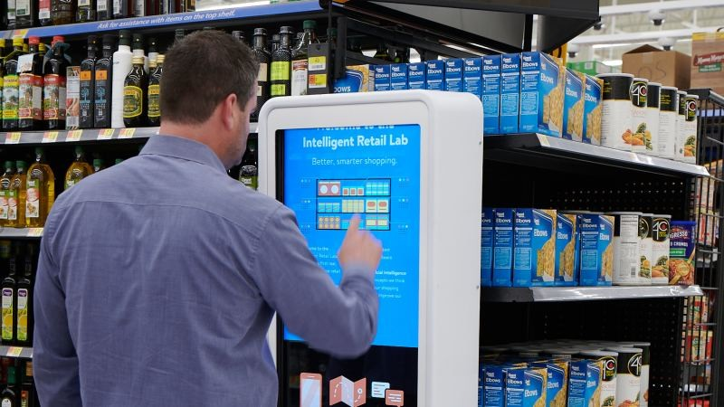 Walmart has unveiled a concept store that uses cameras to automatically track stock