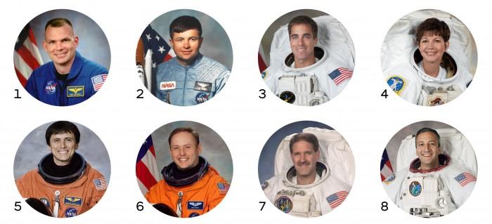 Photo of MIT alumni astronauts