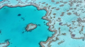 Great Barrier Reef aerial photograph