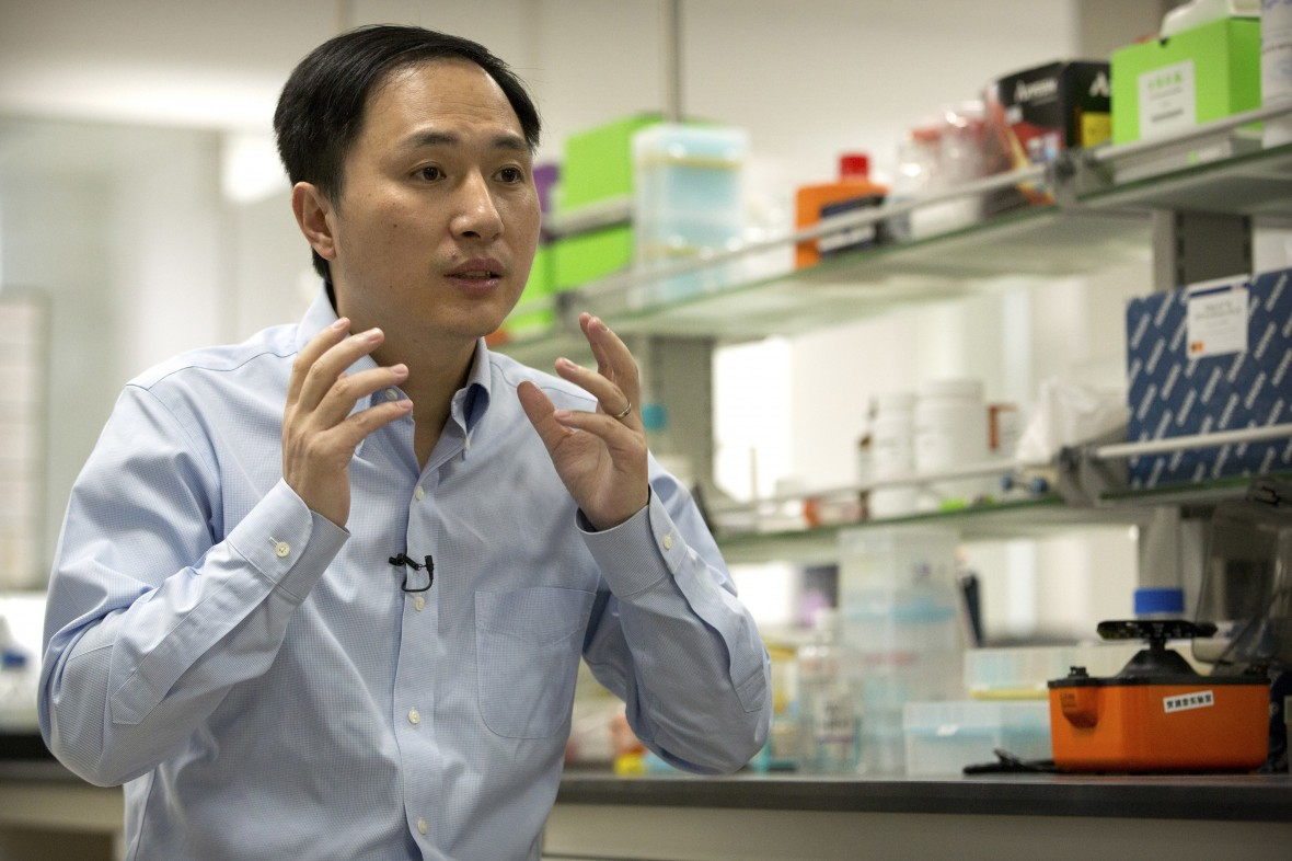 The Chinese scientist who claims he made CRISPR babies is under investigation