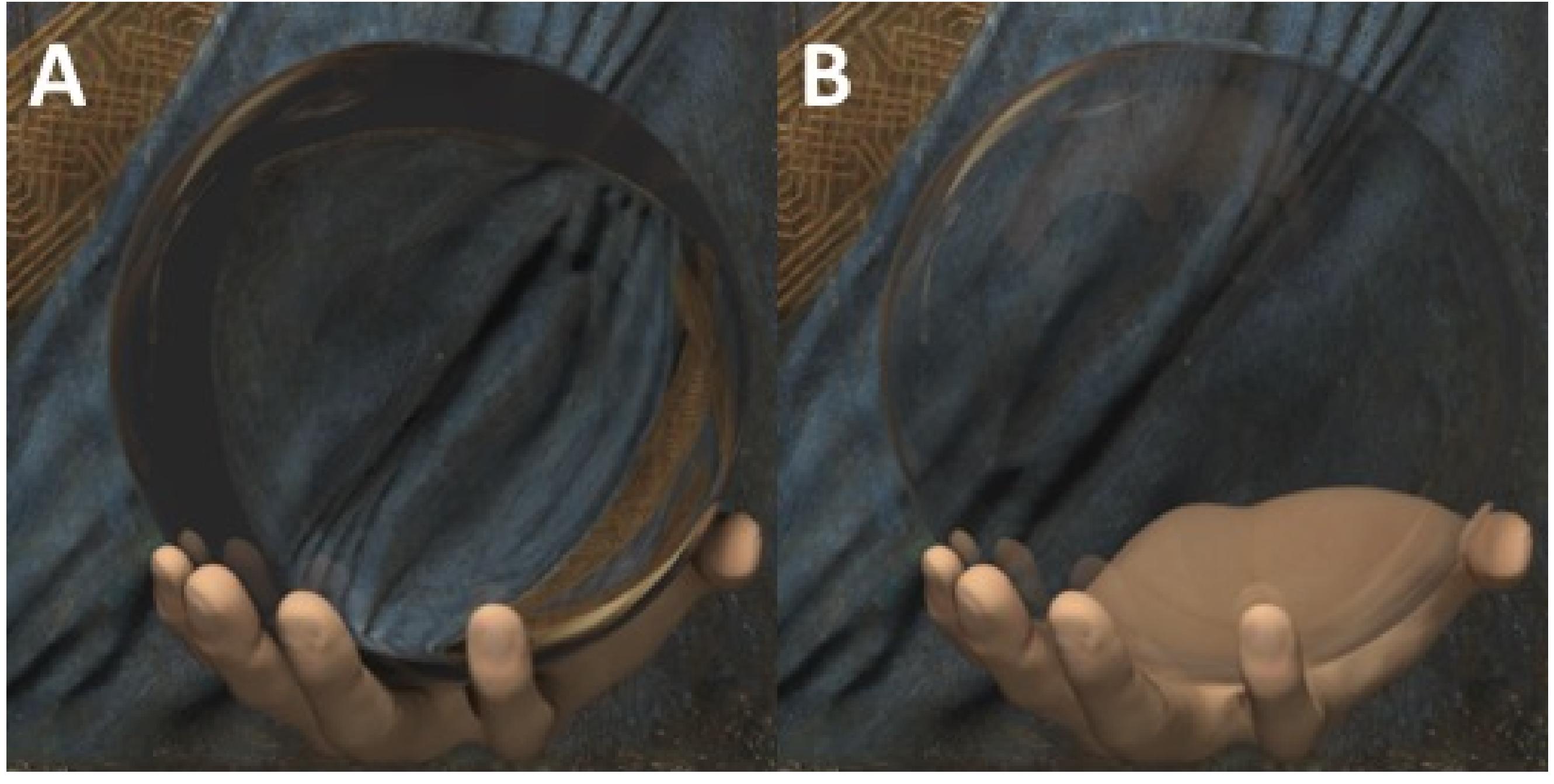 A virtual version of da Vinci's mystery glass orb has helped explain its weirdness