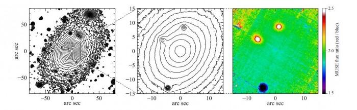 The Holm 15A supermassive black hole