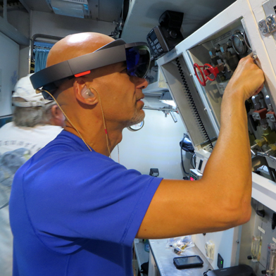 NASA to Try Again in December to Send Microsoft's HoloLens to Space