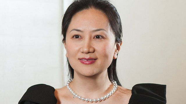A photo portrait of Meng Wanzhou, Huawei's chief financial officer