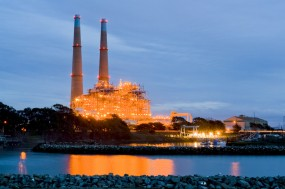 Image of the Moss Landing Power plant