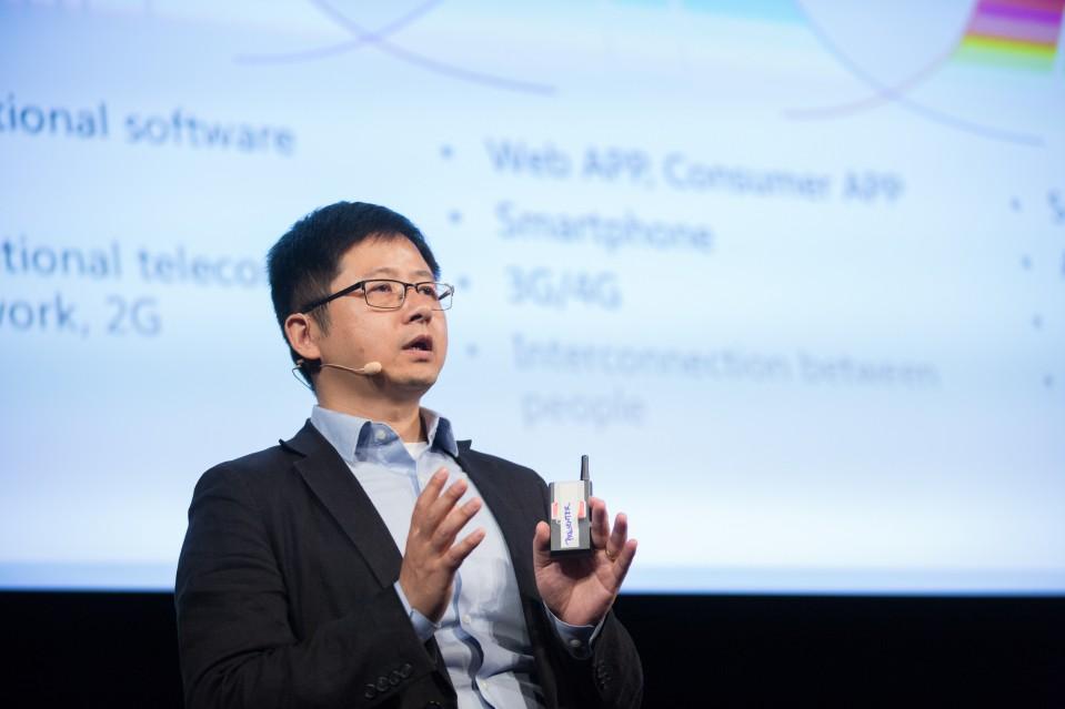 A photo of Hui Zhang