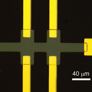 IBM chip closeup