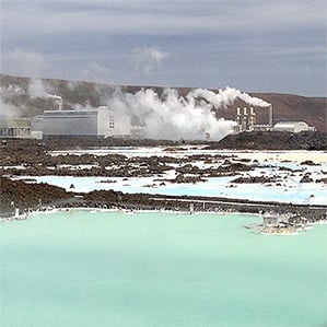 Svartsengi geothermal power plant