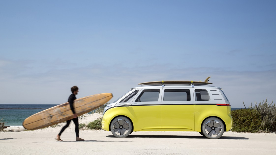 Volkswagen's electric I.D. Buzz