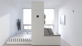 Ikea's robotic furniture system Rognan