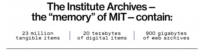 The institute archives stat