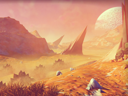 No Man's Sky: A Vast Game Crafted by Algorithms - MIT Technology Review