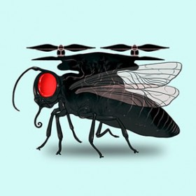An Emerging Class Of Very Small Flying Drones Has Taken Off In Public And Private Research Labs Recent Years See Robotic Insect Takes