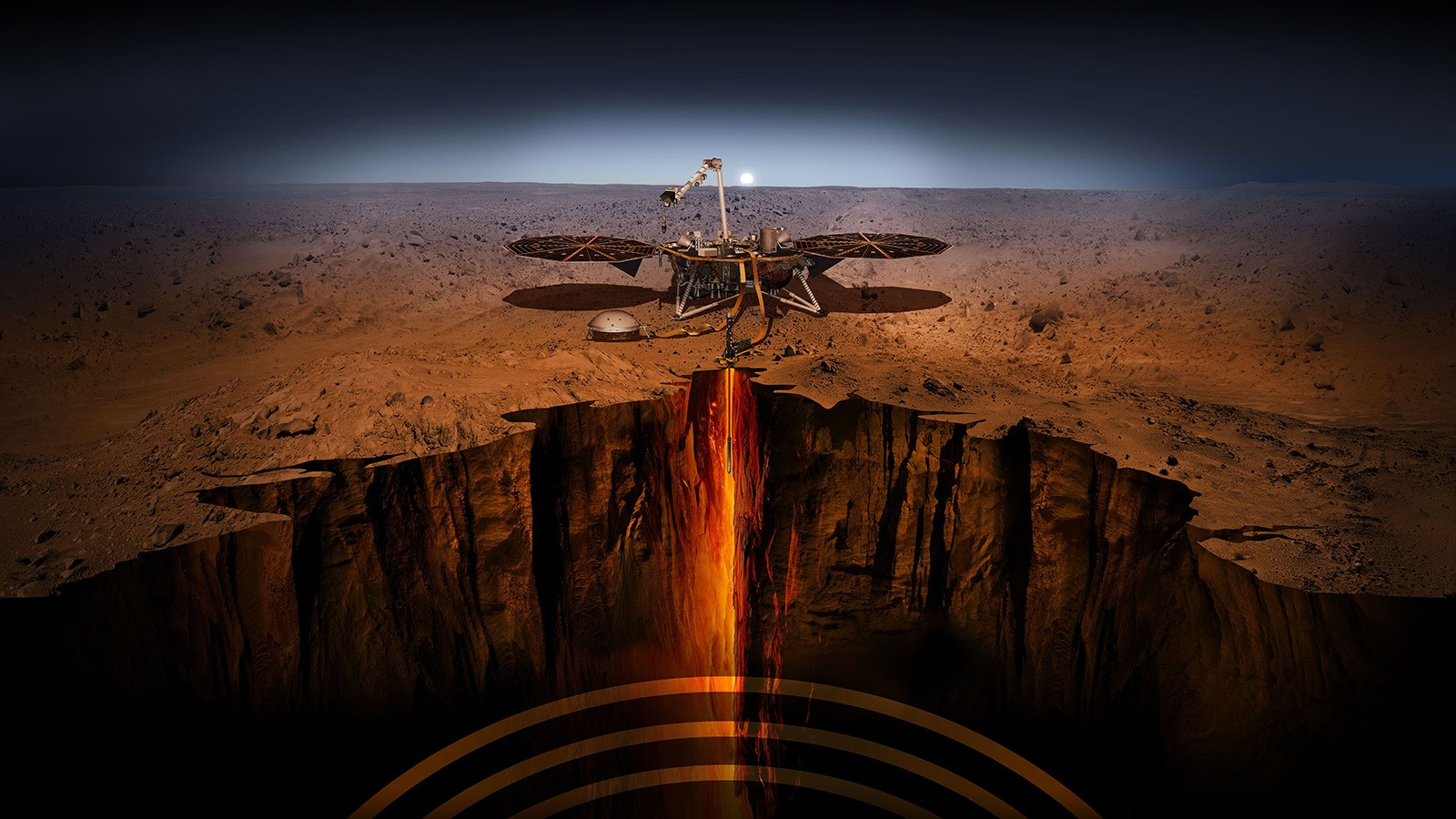 NASA's InSight mission proves Mars is rocked by hundreds of earthquakes
