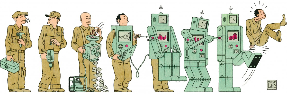 Can Technology replace manpower       Dream Believe Inspire