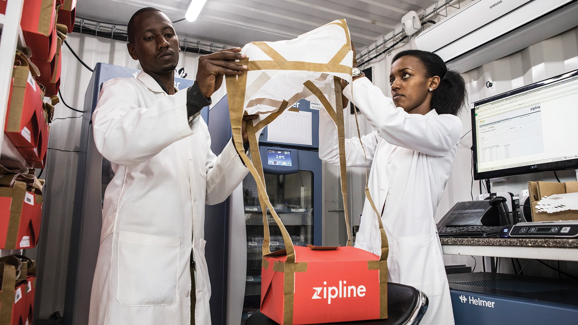Zipline's Ambitious Medical Drone Delivery in Africa - MIT
