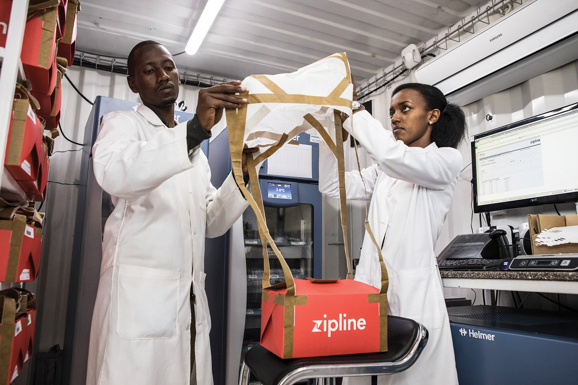Zipline S Ambitious Medical Drone Delivery In Africa Mit