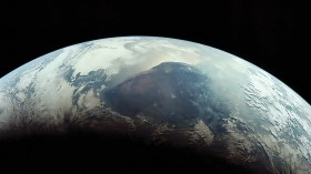 An image of the Earth from space