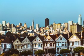 An image of a street in San Francisco