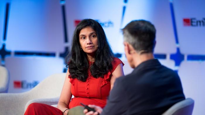 Jainey Bavishi at EmTech