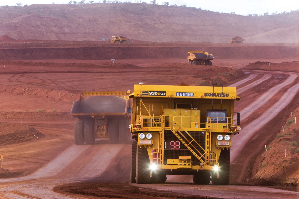 Mining 24 Hours a Day with Robots