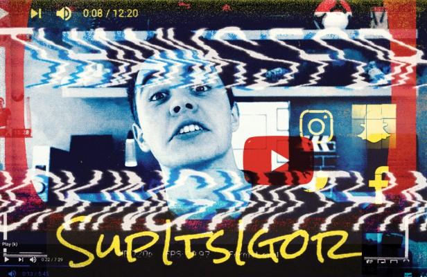 photo collage of youtube personality Igor van Lamsweerde