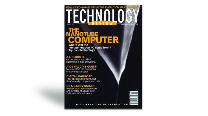 March 2002 Cover