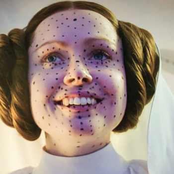 Photo of Ingvild Deila as Princess Leia