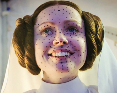 Photo of Ingvild Deila as Princess Leia