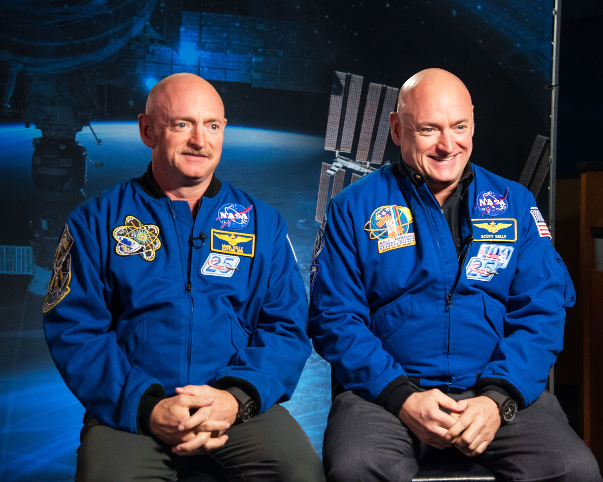 NASA Twins Study: Body Changes Over Time in Space
