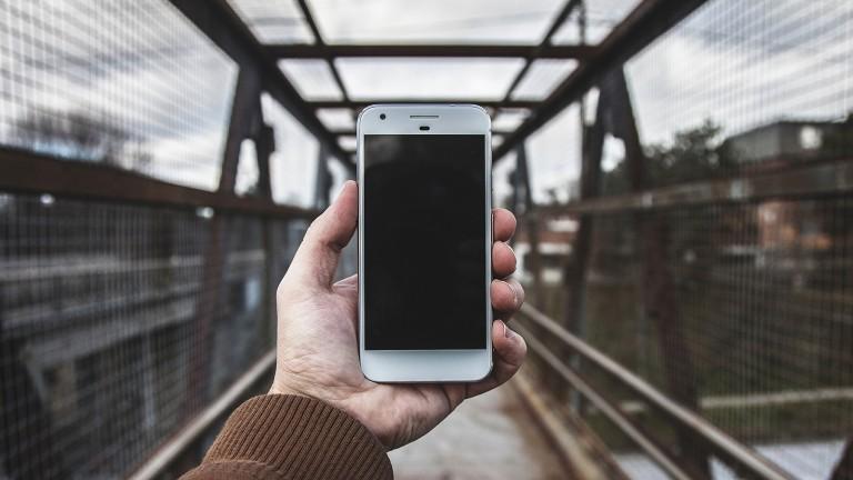 The Google Pixel smartphone