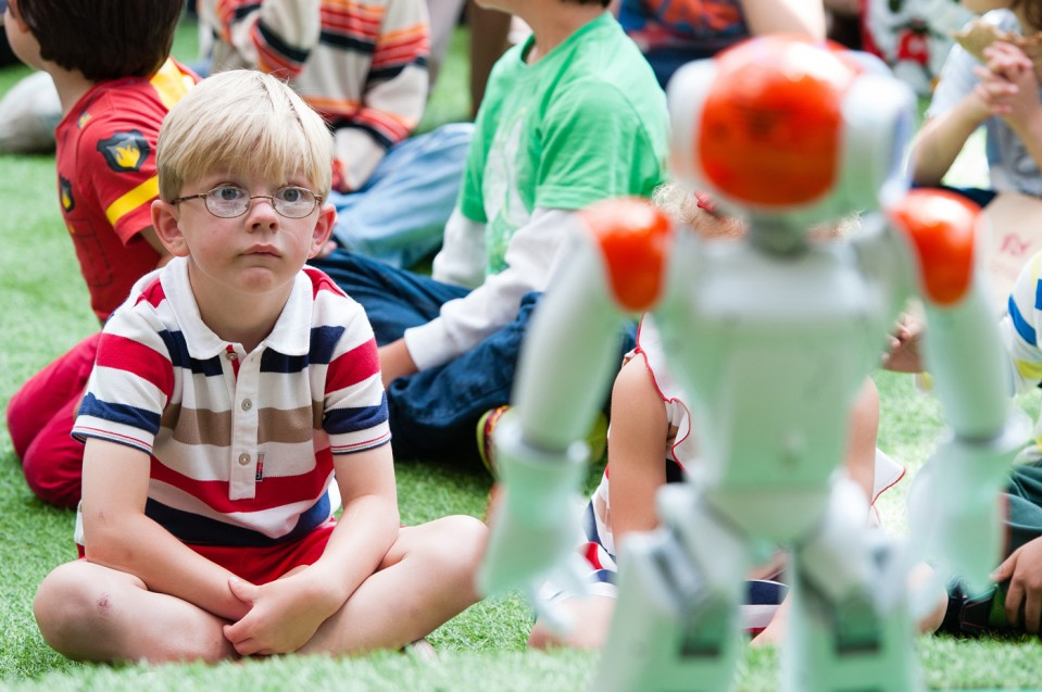 What Happens When Robots Become Role Models - MIT Technology Review