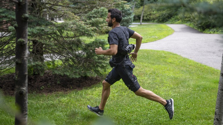 An Exosuit for running and walking.