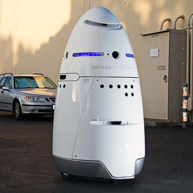 Rise Of The Robot Security Guards Mit Technology Review