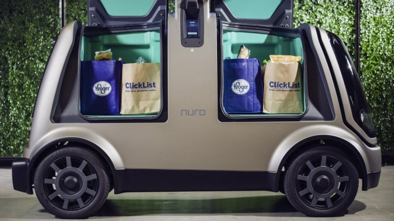 Nuro self-driving vehicle
