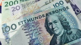 Swedish paper currency