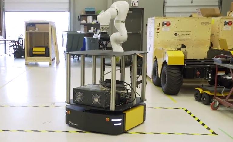 Mobile robotic arm