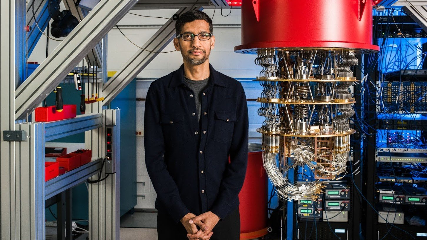 Google CEO Sundar Pichai on achieving quantum supremacy