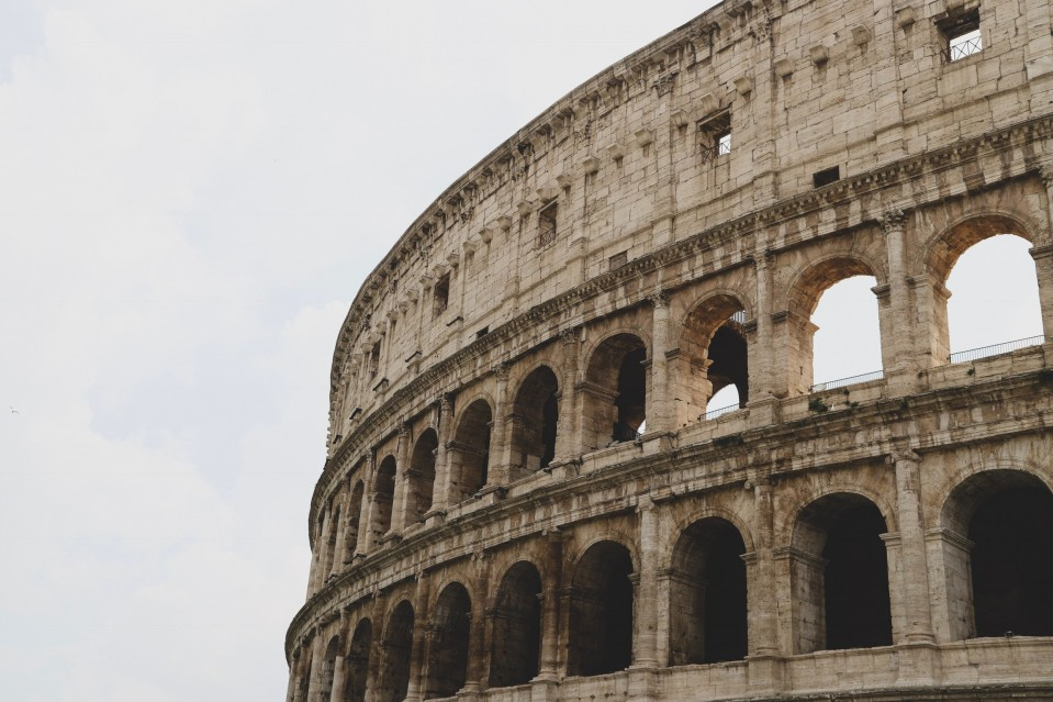 An image of the Roman Colosseum