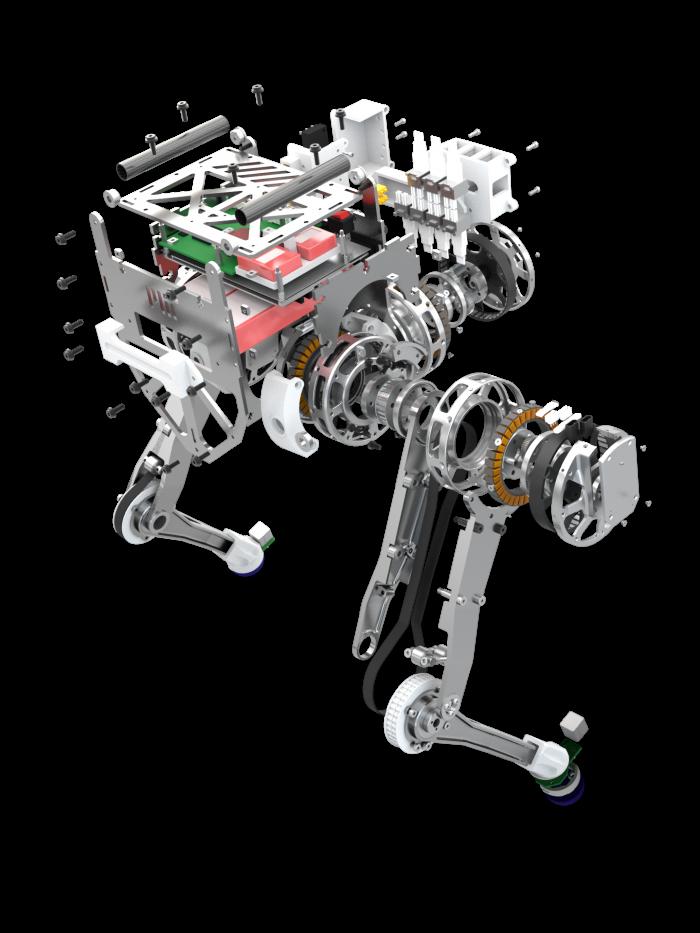 diagram of robot