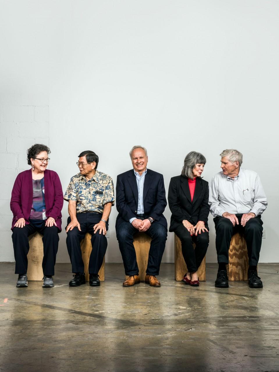 Image of seniors from Longevity explorers