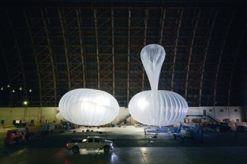 inflated loon ballons