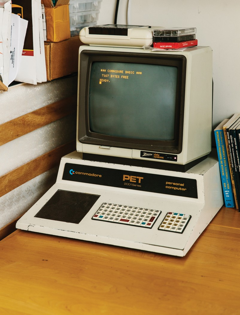 A Dormitory Laboratory Mit Technology Review Electronic Devices And Circuits 5th Edition Free Download Engineering Slideshow When Dasaro Restored This 1977 Commodore Pet Computer Which He Received In Pieces As Kid Had To Build Some Missing Parts Himself