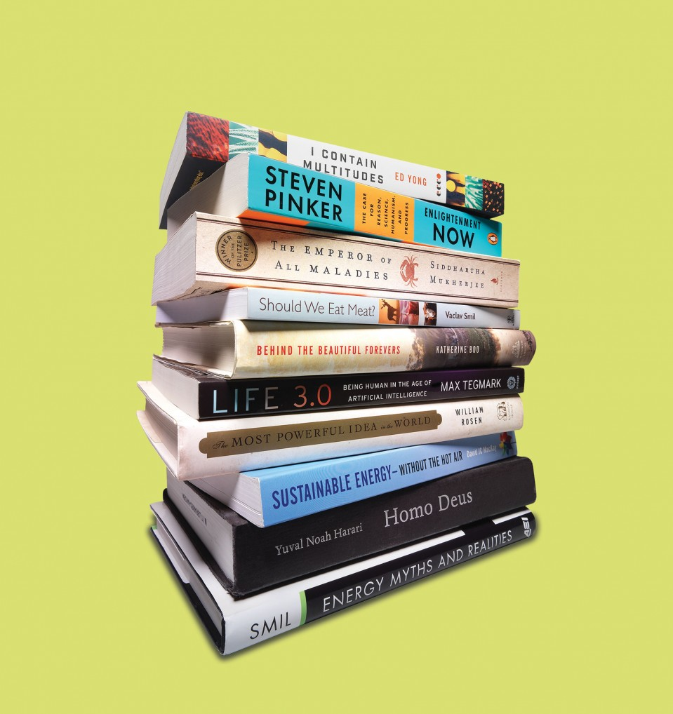 10 of Bill Gates's favorite books about technology - MIT